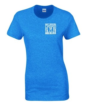 Best Buddies Ladies Sapphire T-Shirt